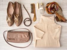 靴と鞄と服